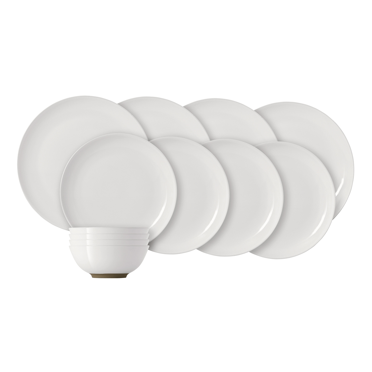 Olio by Barber Osgerby White 12-Piece Set